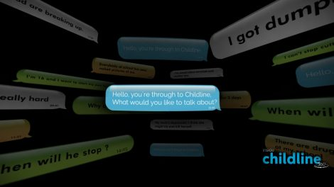 NSPCC Inside Childline 360 Screenshot - Parable Works